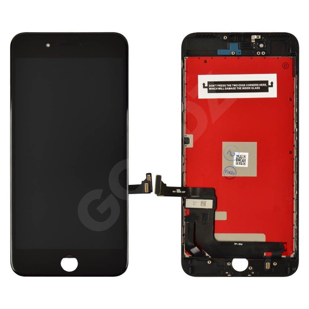 Дисплей для iPhone 7 Plus (5.5) з тачскріном в зборі, колір чорний, копія високої якості (Kingwo)