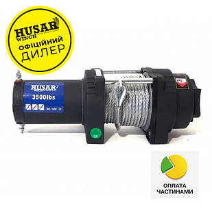 ✅Лебедка электрическая HUSAR BST S 3500 на 1,6т. электролебедка автомобильная 12 вольт