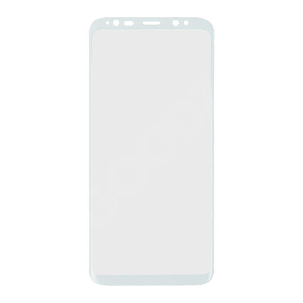 Захисне скло для Samsung G950 Galaxy S8, 3D, колір білий