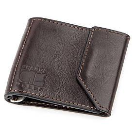 Затиск для грошей GRANDE PELLE 11150 Темно-коричневий