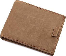 Затиск для грошей Vintage 14532 з натуральної шкіри Коричневий
