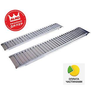 ✅Трап заездной алюминиевый AL-KO Profi 2000x300x80 мм (1224714),