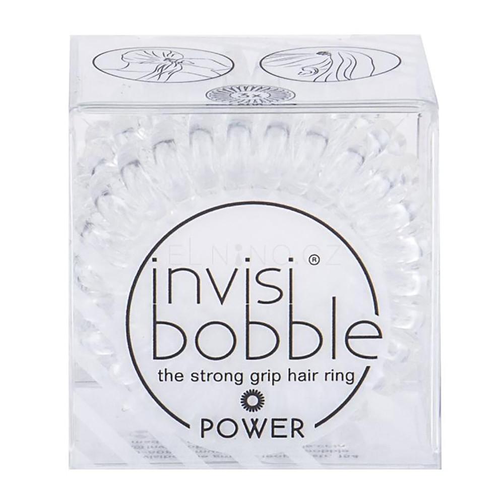 Резинка-браслет для волос Invisibobble Power Crystal Clear (4260285373244)