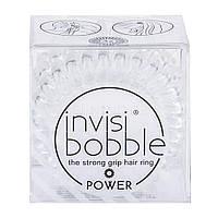 Резинка-браслет для волос Invisibobble Power Crystal Clear (4260285373244), фото 1