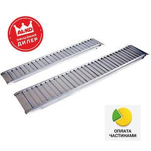 ✅Трап заездной алюминиевый AL-KO Profi 2500x300x80 мм (1224716),