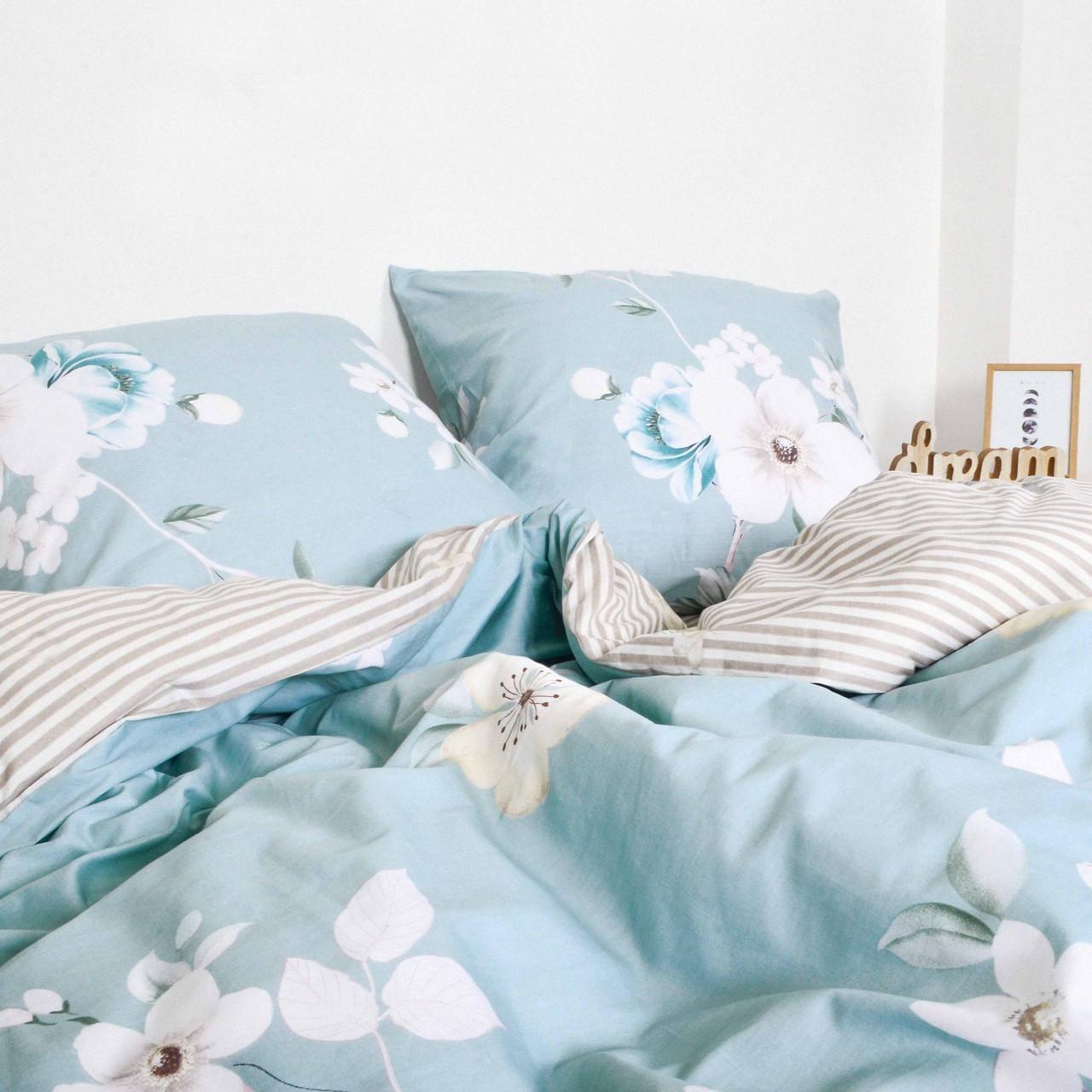 Комплект постельного белья полуторный Сатин Twill 493 ТМ Вилюта