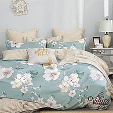 Комплект постельного белья полуторный Сатин Twill 493 ТМ Вилюта, фото 2