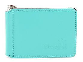 Шкіряний затиск для банкнот високої якості SHVIGEL 00345