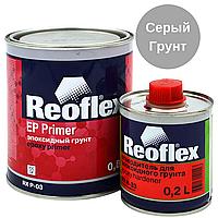 Грунт Епоксидний Сірий REOFLEX EP Epoxy Primer RX P-03 0,8 л з Затверджувачем 0,2 л, фото 1