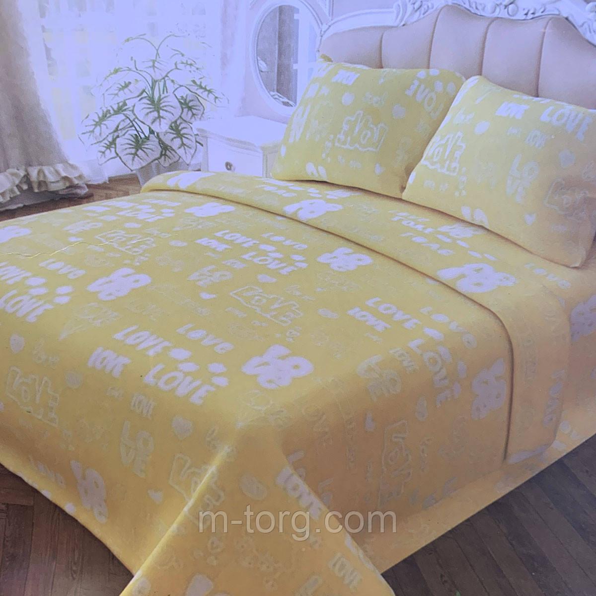 Комплект постільної білизни полуторний 150/210 см, нав-ки 70/70, тканина сатин, 100% складається з бавовни