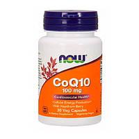 Коензим Q10 з глодом CoQ10 with Hawthorn Berry Now Foods 100 мг капсули № 30