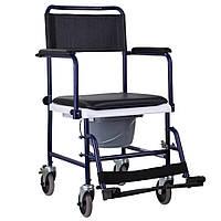 Крісло-каталка з санітарним оснащенням OSD-MOD-JBS367A