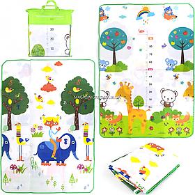 Дитячий ігровий килимок EVA двосторонній в сумці, 180х120 см (00304)