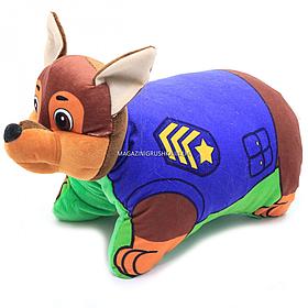 Мягкая игрушка Щенячий патруль «Щенок Гонщик Чейз» 43 см (00295-800)