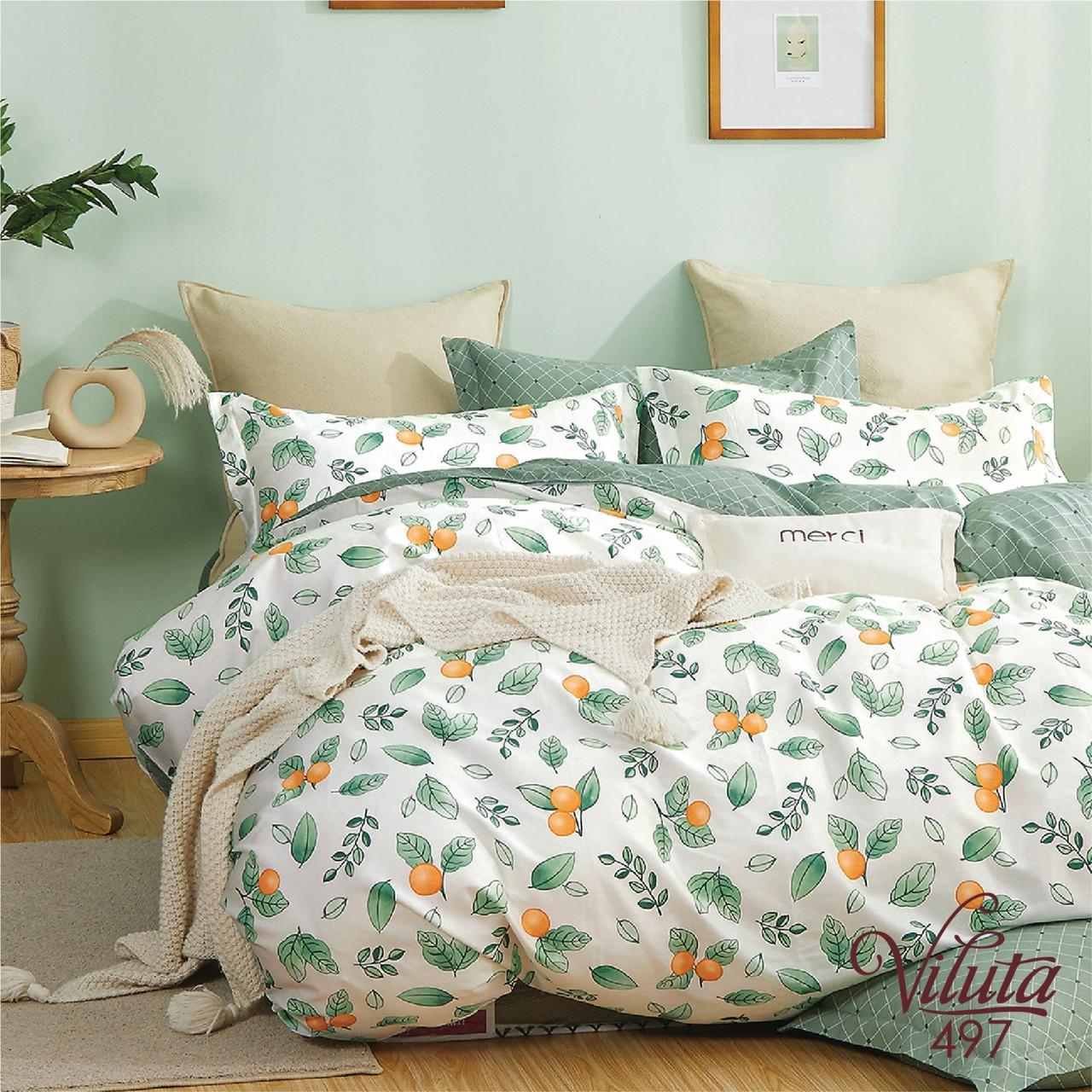 Комплект постельного белья Сатин Twill 497 ТМ Вилюта