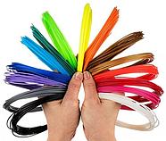 Пластик для 3D ручки PLA HQ (20 кольорів по 5 метрів) HM164, фото 3