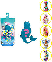 Набор-сюрприз Барби Русалка Челси Barbie Color Reveal Chelsea Mermaid