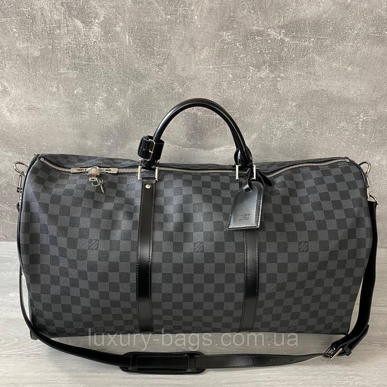 Дорожня сумка Louis Vuitton Keepall 55 Луї Віттон