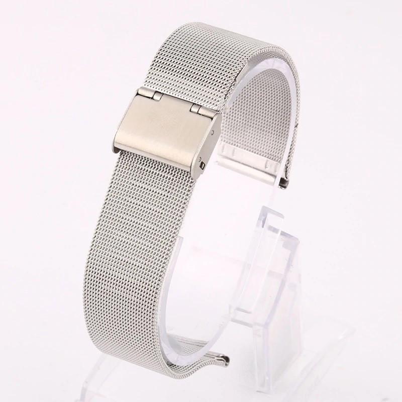 Ремешок для часов Mesh steel design bracelet Universal, 20 мм. Silver