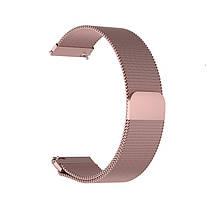 Ремінець для годинника Melanese design bracelet Універсальний, 20 мм Pink