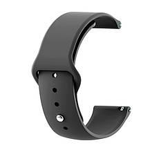 Ремінець для годинника Sport design bracelet Універсальний, 22 мм, Black