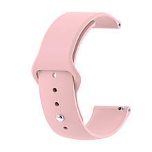 Ремінець для годинника Sport design bracelet Універсальний, 22 мм, Pale pink