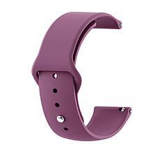 Ремінець для годинника Sport design bracelet Універсальний, 22 мм, Violet