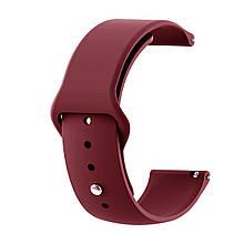 Ремінець для годинника Sport design bracelet Універсальний, 22 мм, Rose red