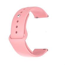 Ремінець для годинника Sport design bracelet Універсальний, 22 мм, Pink