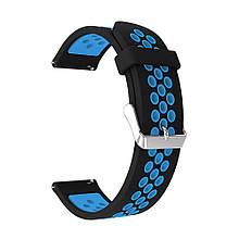 Ремінець для годинника Nike design bracelet Універсальний, 22 мм Black/Blue