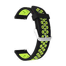 Ремешок для часов Nike design bracelet Universal, 22 мм Black/Yellow