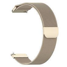 Ремінець для годинника Melanese design bracelet Універсальний, 20 мм. Vintage gold