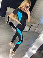 Спортивні штани жіночі Пушка Огонь Abstraction, фото 1