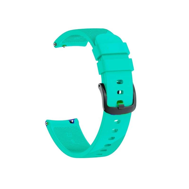 Ремешок для часов Silicone bracelet Universal, 20 мм. Type B Mint green