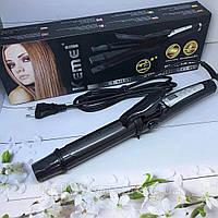Парикмахерский утюжок для волос выплямитель плойка для локонов Щипцы стайлер 3в1 керамика Kemei GB-KM 988