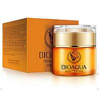 Увлажняющий крем для лица с лошадиным жиром Bioaqua Horse Oil Ointment 50г