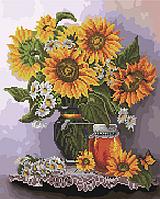 Алмазная мозаика и картина по номерам Солнечный натюрморт GZS1108 40х50 см картина набор для росписи и, фото 1