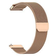 Ремінець для годинника Melanese design bracelet Універсальний, 20 мм Rose gold