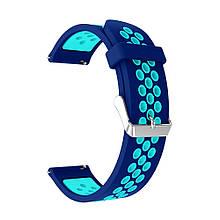 Ремінець для годинника Nike design bracelet Універсальний, 22 мм Blue/White
