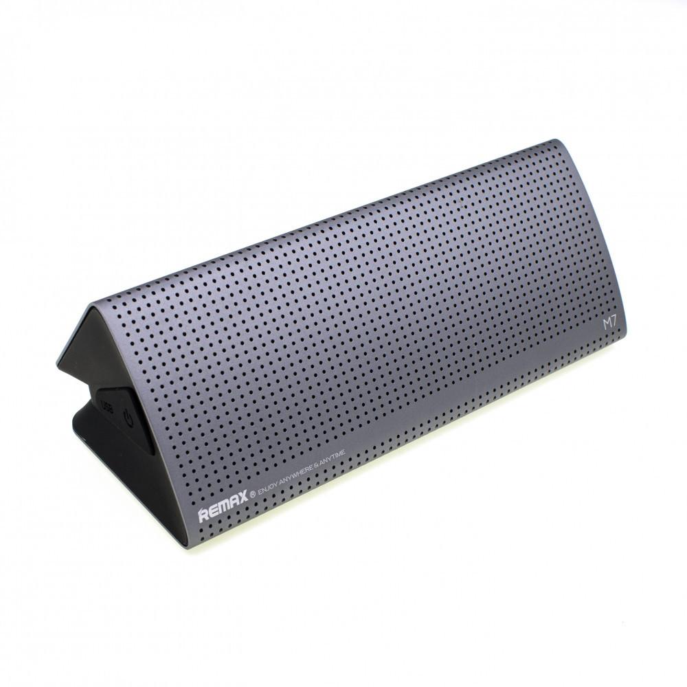 Портативна акустична система Bluetooth Speaker Remax RB-M7 Silver