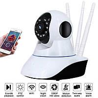 Камера видеонаблюдения поворотная WIFI IP камера V380 CAMERA PTZ Q6S HD для дома видеоняня