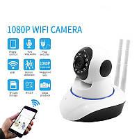 Камера Видеонаблюдения поворотная V380-Q5T WiFi с ИК подсветкой 360 IP Камера видеонаблюдения