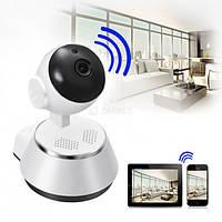 Камера видеонаблюдения IP WiFi с ИК подсветкой и датчиком движения 360 панорамная V380-Q6
