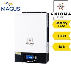 Автономный инвертор Axioma ISMPPT BFP 5000 (5 кВт 48В 1 фазный 1MPPT)