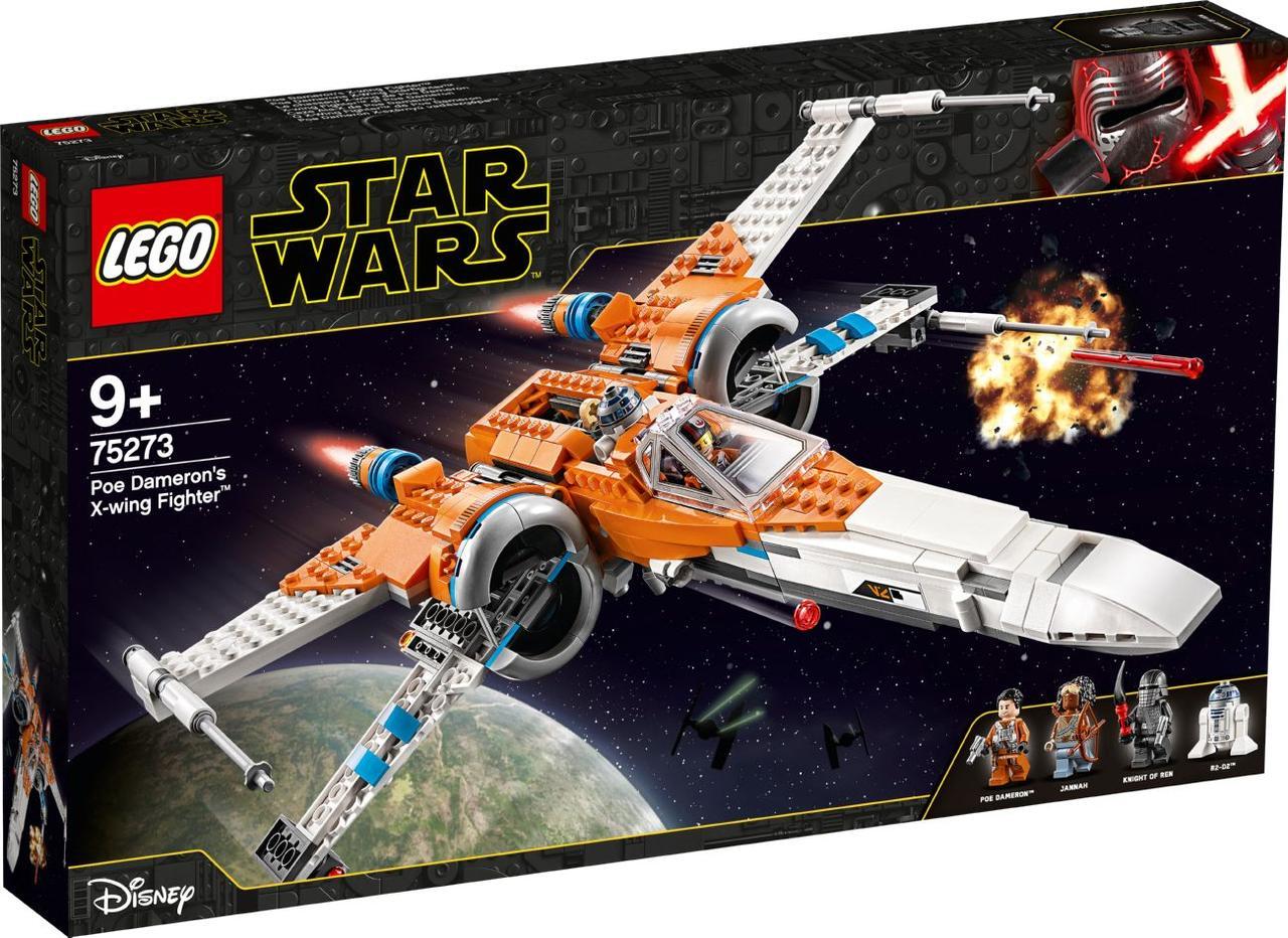 Лего Зоряні Війни Винищувач типу Х По Дамерона Lego Star Wars Лего Стар Варс 75273