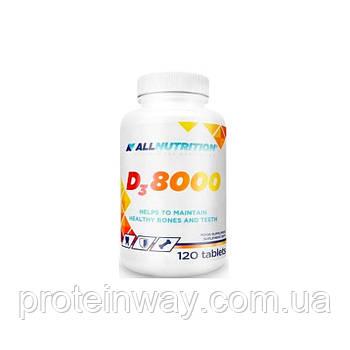 Витамин D3 AllNutrition D3 8000 120 таб