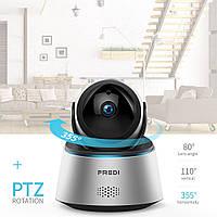 Камера видеонаблюдения IP WiFi с ИК подсветкой и датчиком движения FREDI Q13 PTZ LHY-2MP