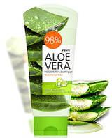 Многофункциональный гель Алоэ Вера WELCOS Aloe Vera Moisture Aqua Soothing Gel 98%