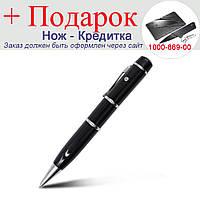 Шариковая ручка Disk с флеш картой USB 2.0 32 ГБ 32Gb Черный