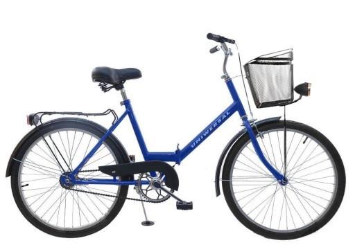 Складной велосипед Uniwersal 24 Blue Польша